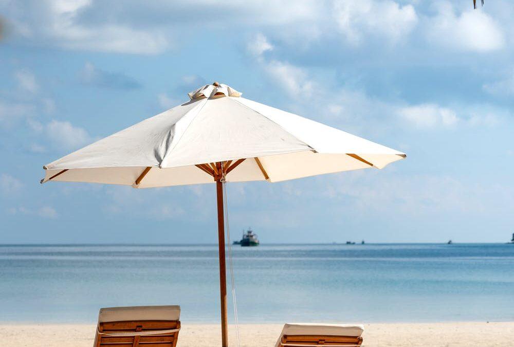 Liggestole på strand
