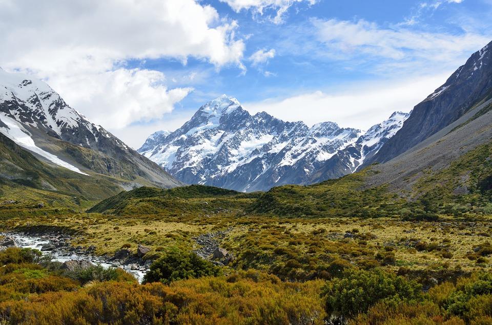 Bjerge i New Zealand
