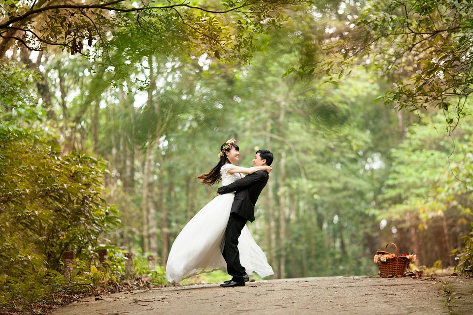 Nygifte i skoven